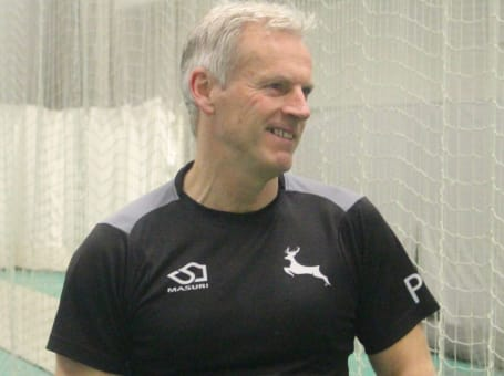 Peter Moores laughs nets Feb 2018