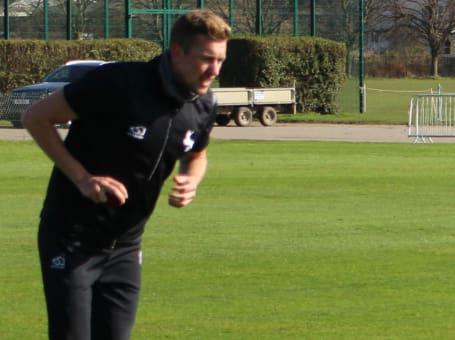 Jake Ball in run-up