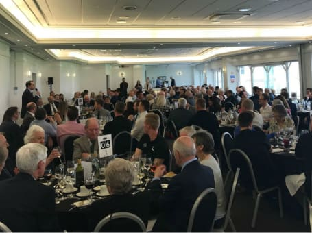 Tables at pre-season lunch