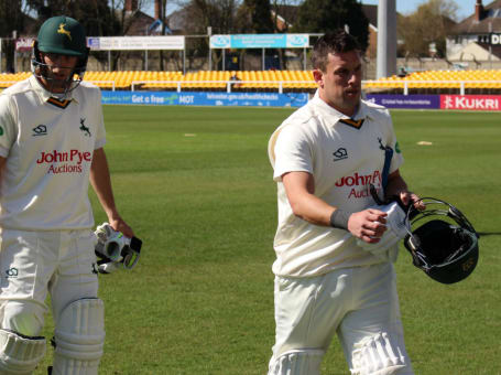 Mullaney and Root at Leicestershire