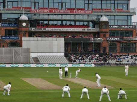 General match view at Old Trafford