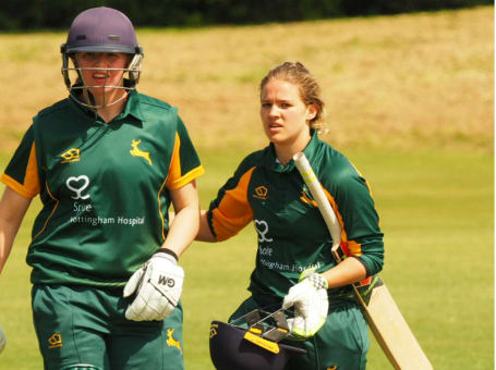 Nottinghamshire Women batters
