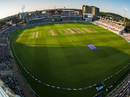 Trent Bridge ODI aerial view