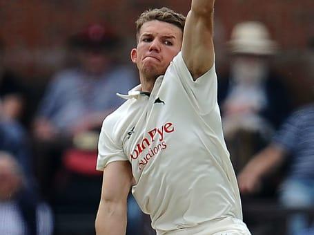 Matt Milnes bowling whites