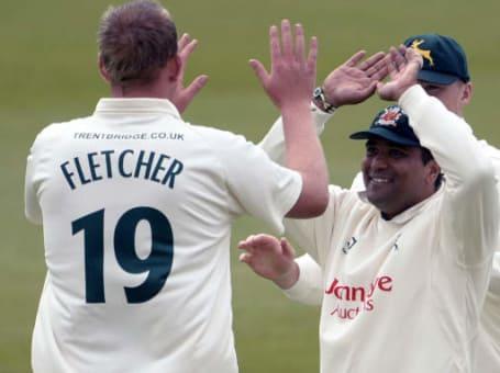 Luke Fletcher and Samit Patel