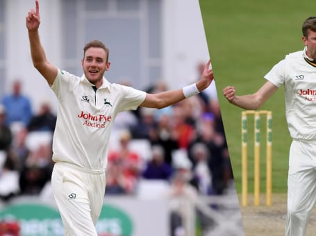 Stuart Broad, Jake Ball