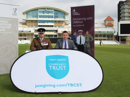 Trent Bridge Covenant signing