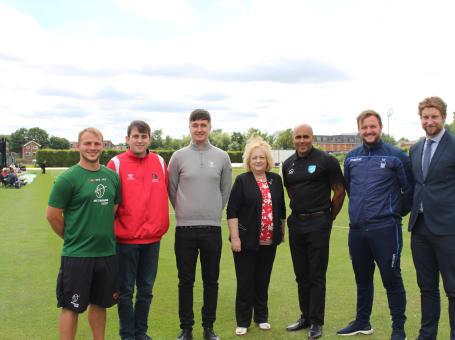 Trent Bridge Trust Sports launch