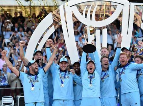 England lift Cricket World Cup