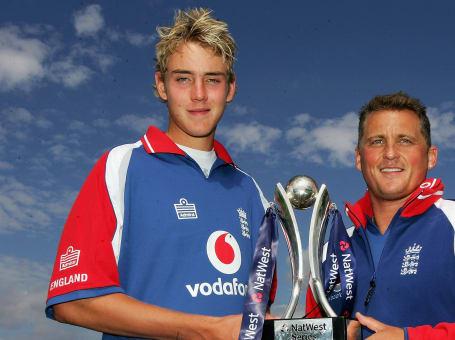 Stuart Broad; Darren Gough