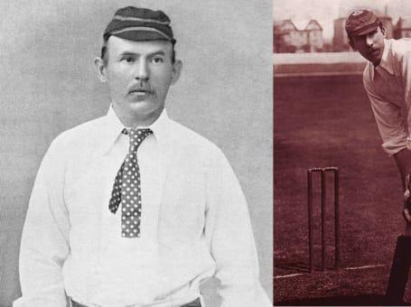 Arthur Shrewsbury and Billy Gunn