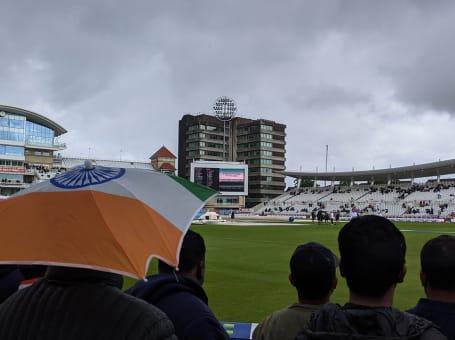 England v India rain