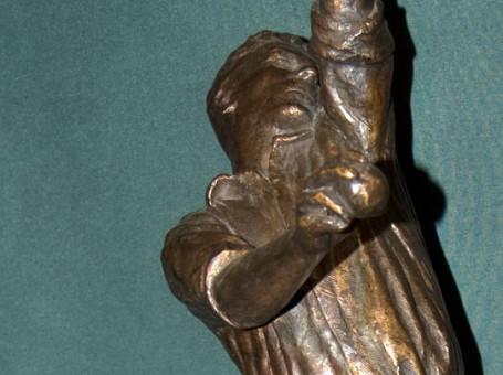 larwood statue