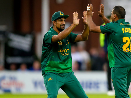 Samit Patel and Ish Sodhi