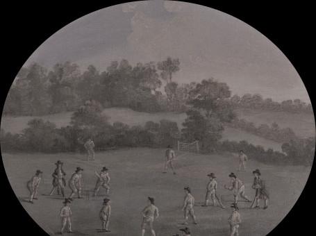 Nottingham's First Cricket Match?