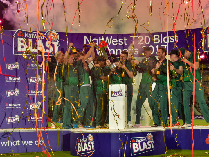 NOTTS OUTLAWS ARE T20 CHAMPIONS