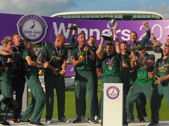 ROYAL LONDON ONE-DAY CUP CHAMPIONS!