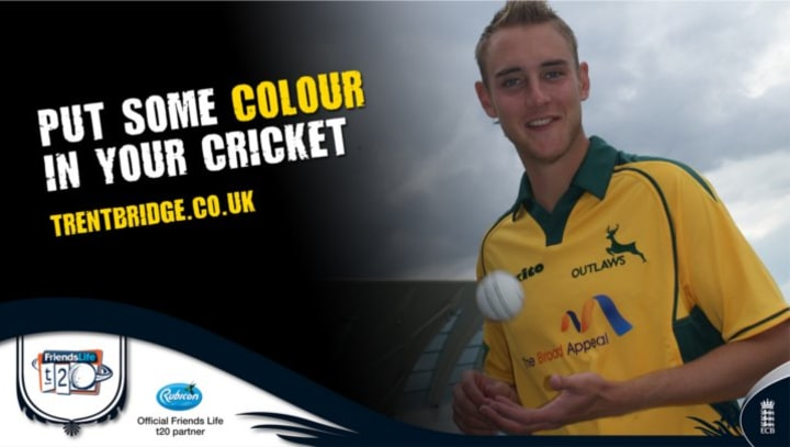 Put Some Colour In Your Cricket