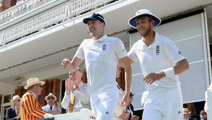 NCCC News : Broad, Ball Named In England Squads For Bangladesh Tour