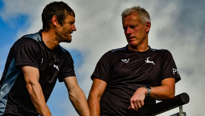 Chris Read and Peter Moores