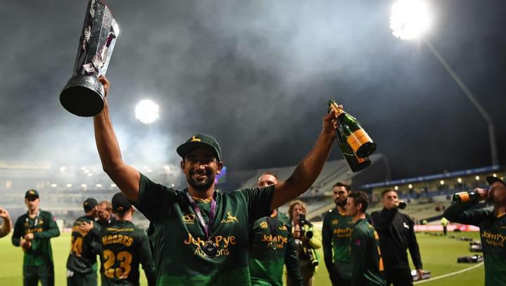 Ish Sodhi T20 Blast trophy win