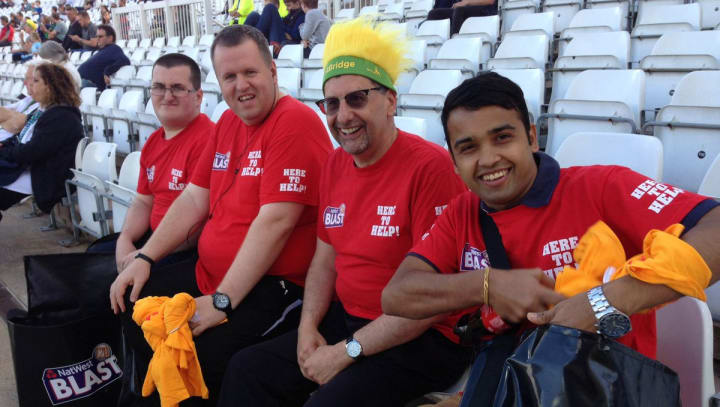 NCCC News : Join us at Trent Bridge in 2018 as a volunteer