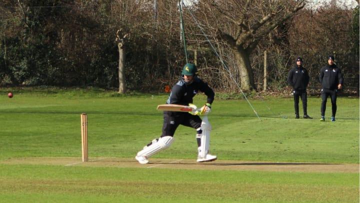Chris Nash batting at Lady Bay2