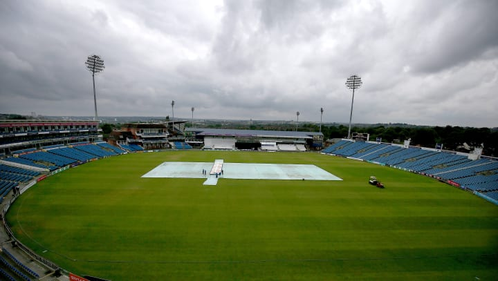 Rain at Headingley