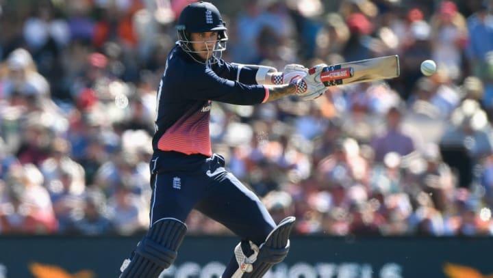 Alex Hales England batting