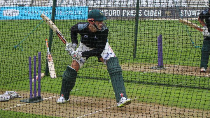 Alex Hales in Notts nets