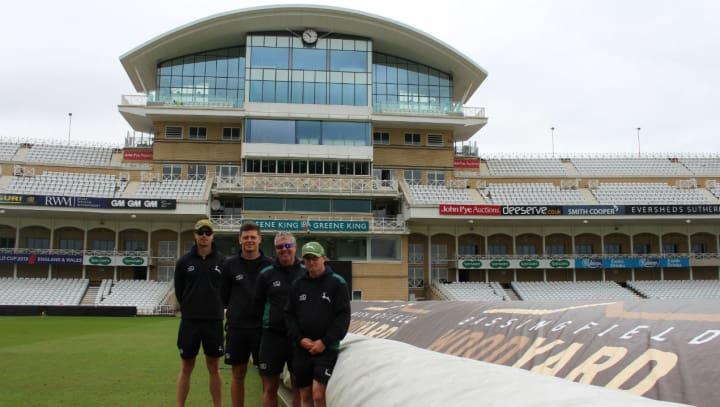 Ground staff after 2018 June ODI