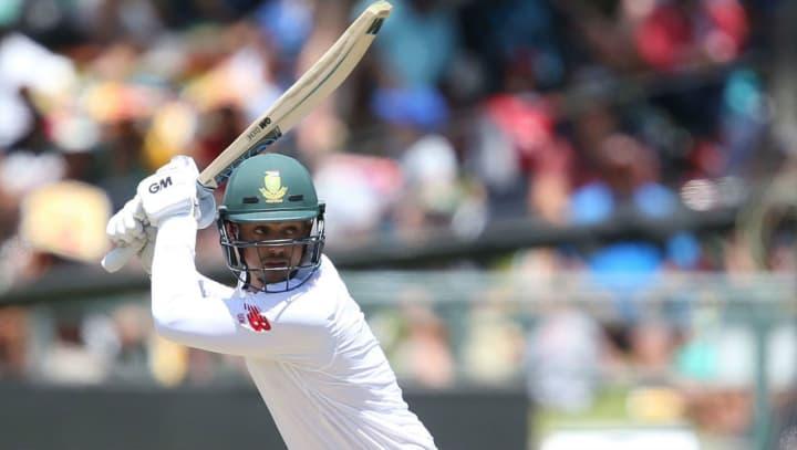 Quinton de Kock batting South Africa