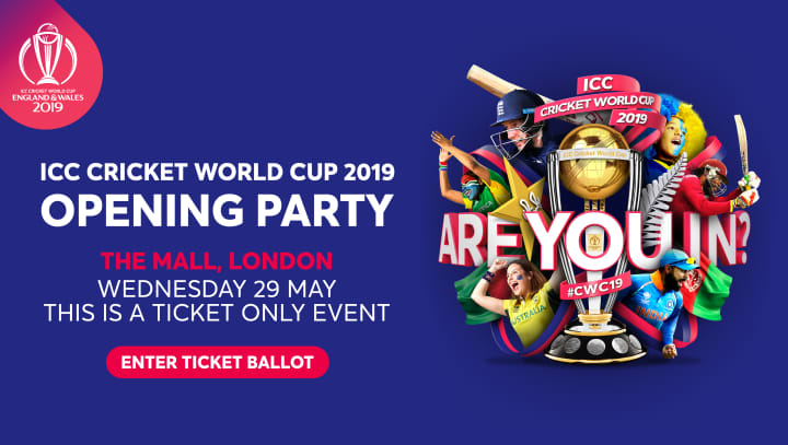 Cricket World Cup Opening Party