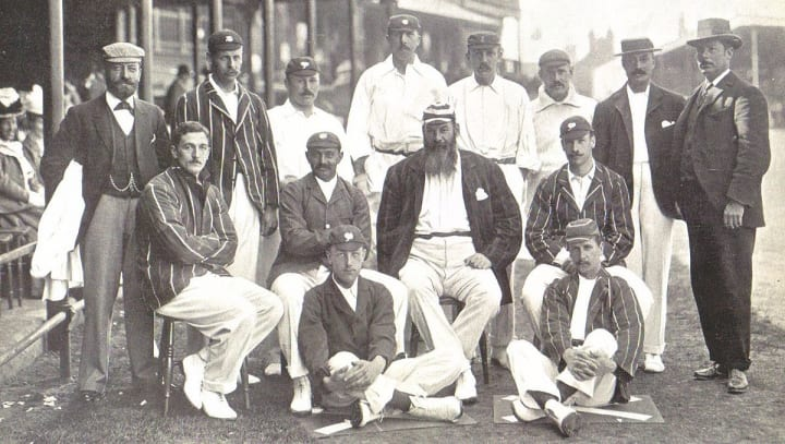 1899: First Test at Trent Bridge