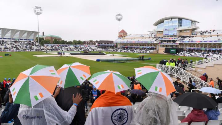 World Cup India Rain Trent Bridge