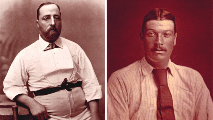 Fred Morley and Alfred Shaw