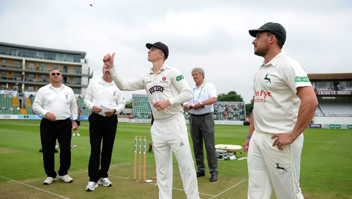 County Championship Toss