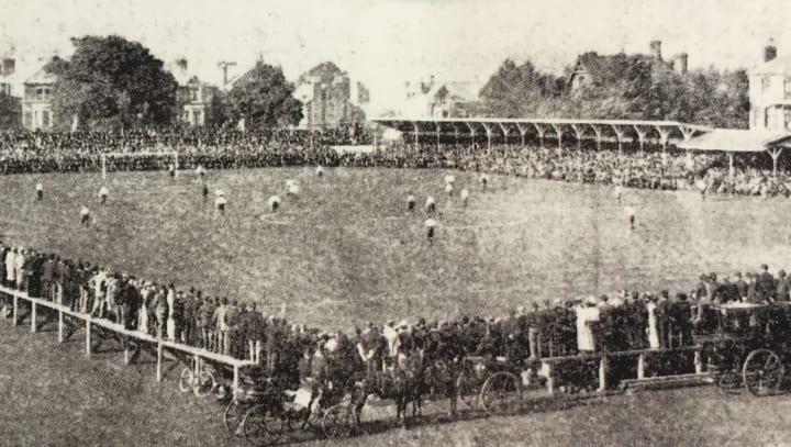Football at Trent Bridge
