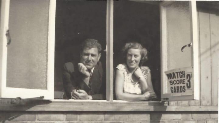 Eileen White and Bill Voce