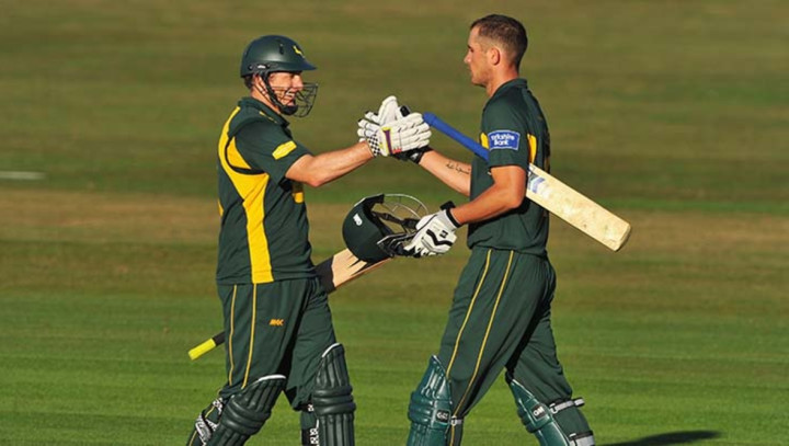 Alex Hales and David Hussey