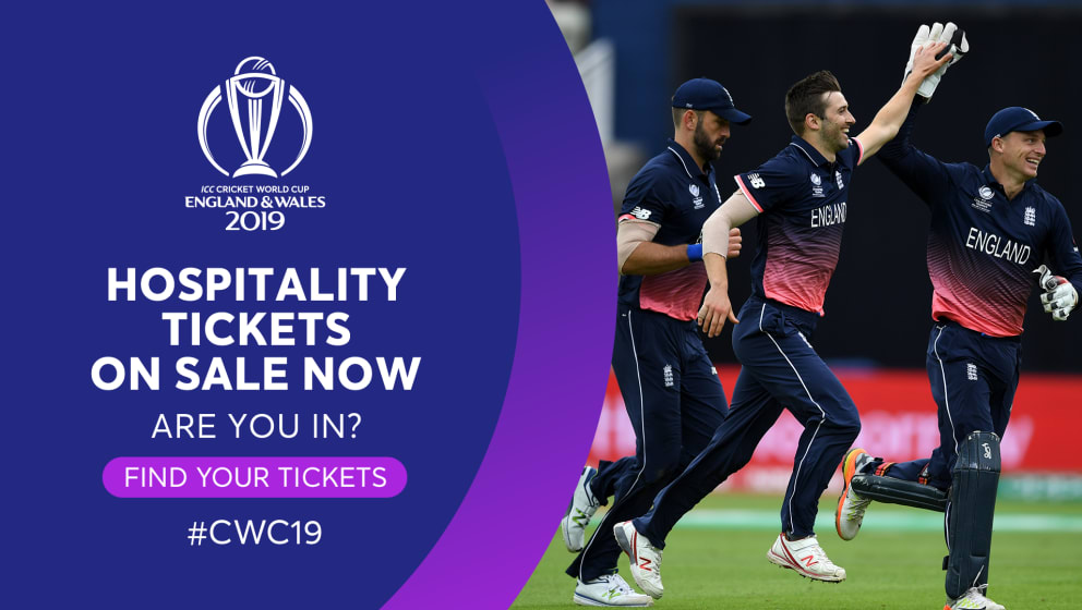 Icc Cricket World Cup 2019 Hospitality