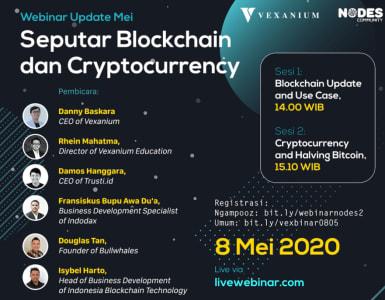 [Webinar] Seputar Blockchain dan Cryptocurrency - Apa yang Akan Terjadi Pada Halving Bitcoin?