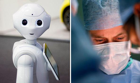 Ai Robot Doctors Corona