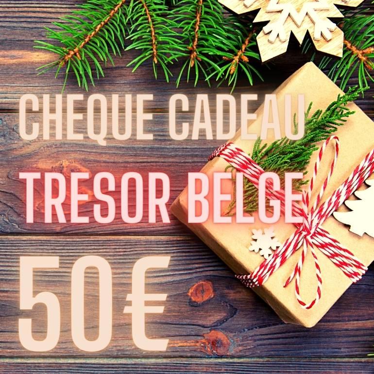Chèque cadeau Trésor Belge 50 €