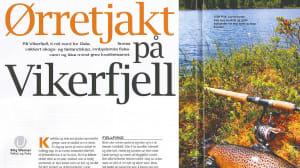 Les artikkel om ørretfiske på Vikerfjell i bladet Alt om Fiske nr 10 - 2011
