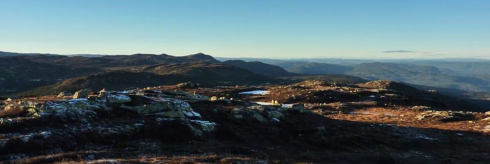 Oslos nærmeste høyfjell