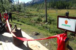 Vikerfjell naturreservat er åpnet