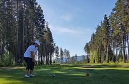 Spesialtilbud på golf til hytteeiere på Vikerfjell