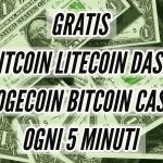 Ottenere gratis Bitcoin Cash Litecoin Dash Dogecoin! Guadagna senza fatica
