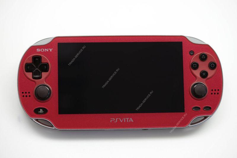 Игровая приставка Sony PlayStation Vita Wi-Fi (3.60 версия ПО) красная